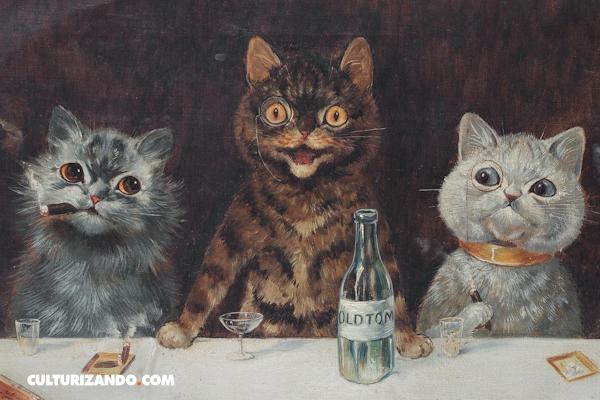 Louis Wain, el pintor que estaba completamente loco por los gatos