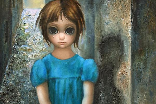 La terrible historia de Margaret Keane, la pintora de los ojos grandes