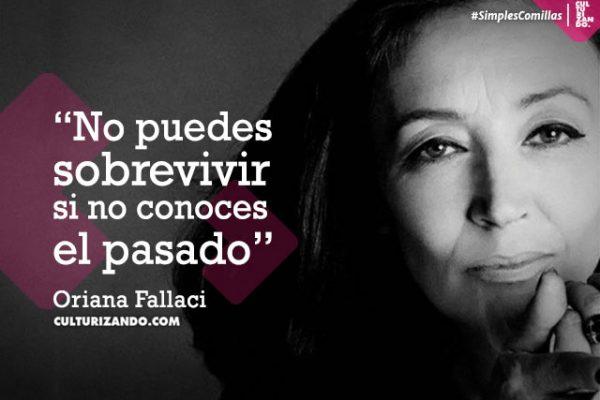 La excéntrica y polémica Oriana Fallaci (+ Frases)