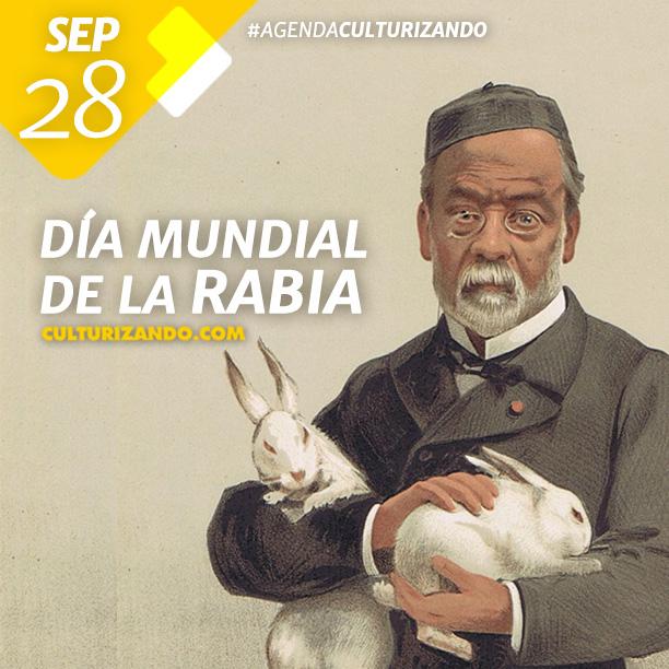 Día Mundial de la Rabia.