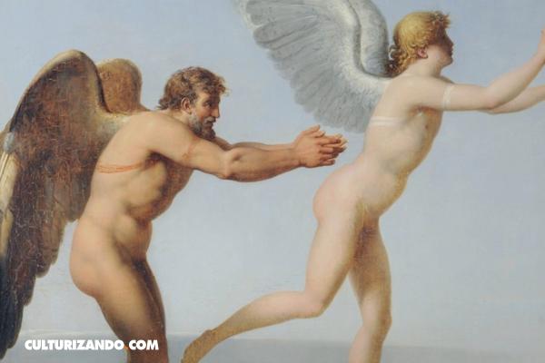 La maldición de Dédalo, el hombre que quiso desafiar a los dioses con un par de alas
