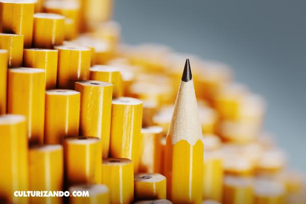 ¿Por qué los lápices son amarillos?