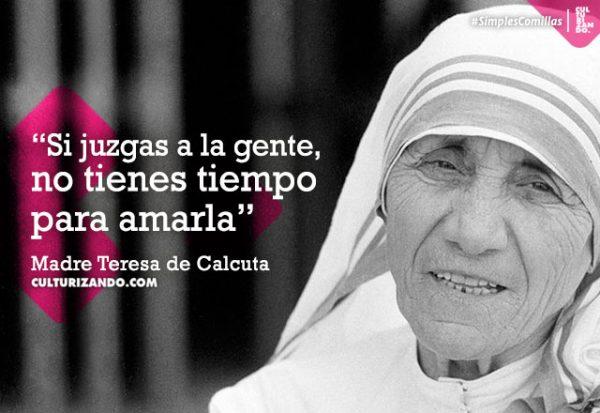Quien Fue La Madre Teresa De Calcuta Frases