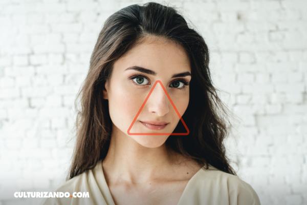 ¿Qué es el triángulo de la muerte de la cara?