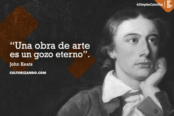¿Quién fue John Keats? (+Frases)