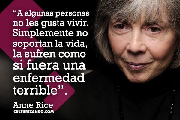 Anne Rice, la madre de los vampiros atractivos (+Frases)