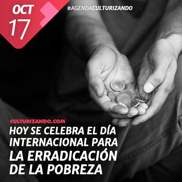 Día Internacional para la Erradicación de la Pobreza.