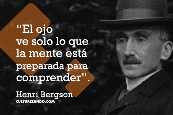¿Quién fue Henri Bergson? (+Frases)