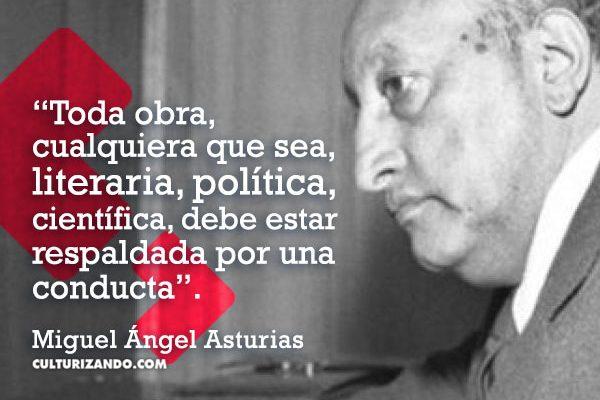 Lo mejor de Miguel Ángel Asturias (+Frases)