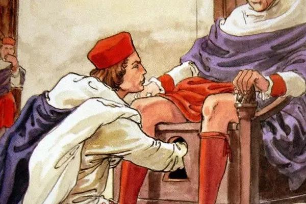 El 'palpati' y su labor de tocarle los testículos al papa