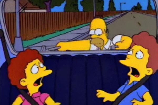 Trivia: ¿Qué películas se esconden bajo estas escenas de Los Simpsons?