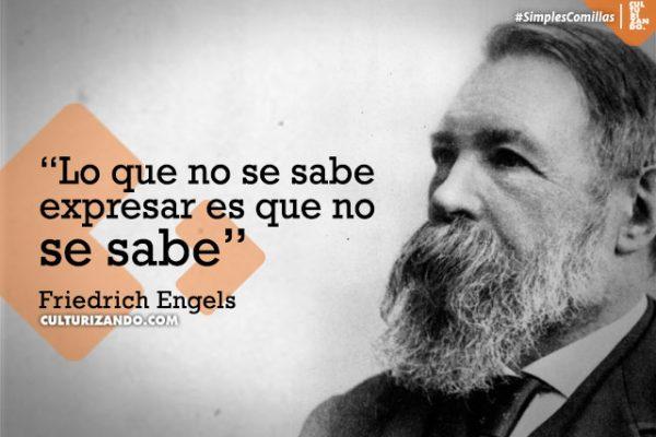 Frases De Friedrich Engels Culturizando