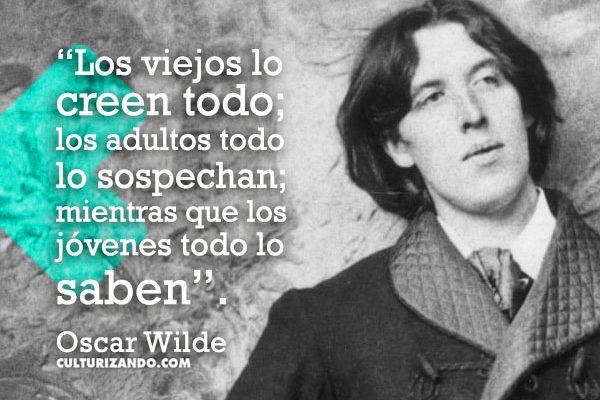 ¡Grande Oscar Wilde! (+ Frases)