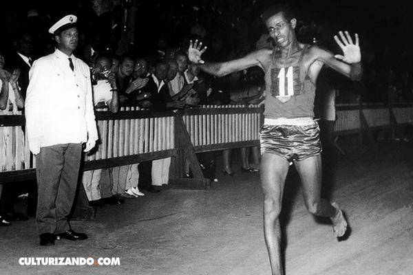 Abebe Bikila, el maratonista que ganó descalzo unas Olimpíadas
