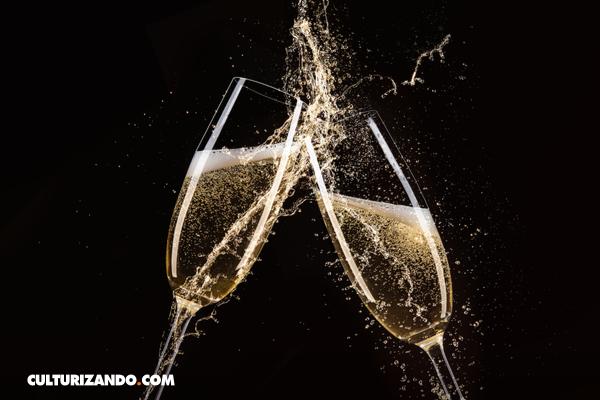 El curioso origen de las copas de champagne