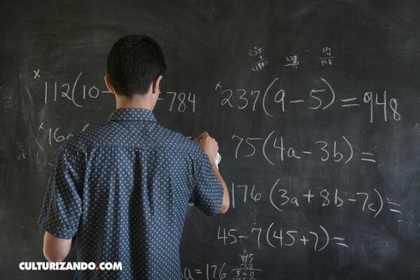 Solo una de cada diez personas puede resolver esta prueba de matemáticas sin una calculadora