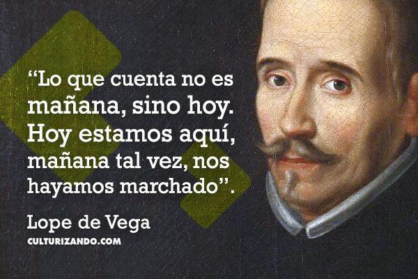 Capsula Cultural Quien Fue Lope De Vega Frases