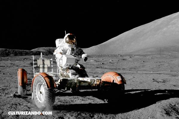 ¿Sabías que existe un humano sepultado en la Luna?