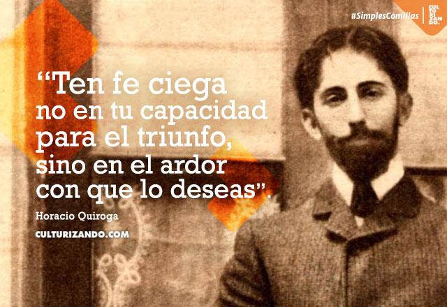 Horacio Quiroga frases