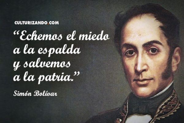 El Libertador Simón Bolívar En 17 Grandes Frases Y Pensamientos