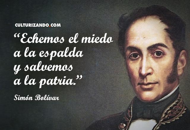 Frases y pensamientos de Simón Bolívar