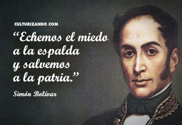 El Libertador Simón Bolívar en 17 grandes frases