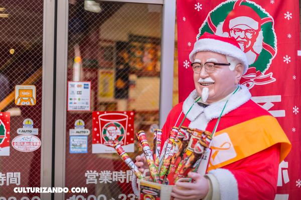 ¿Sabías que los japoneses celebran la Navidad en KFC?