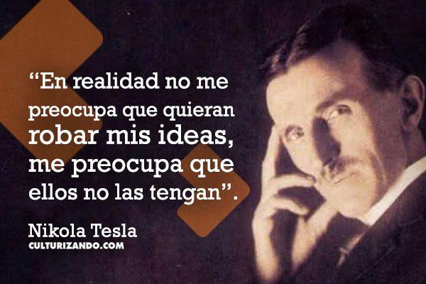 ¿Quién fue Nikola Tesla? (+Frases)
