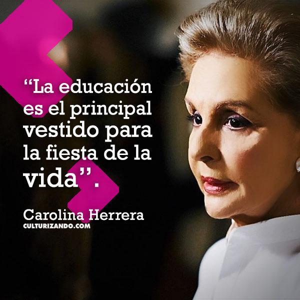 20190108 07 Frases Carolina Herrera Culturizandocom