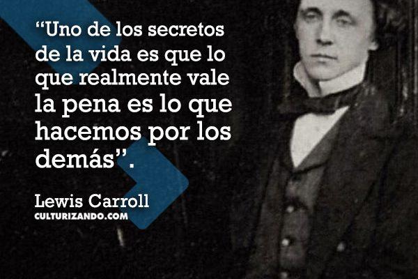 Lo mejor de Lewis Carroll (+Frases)