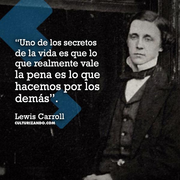 Frases de Lewis Carrol,