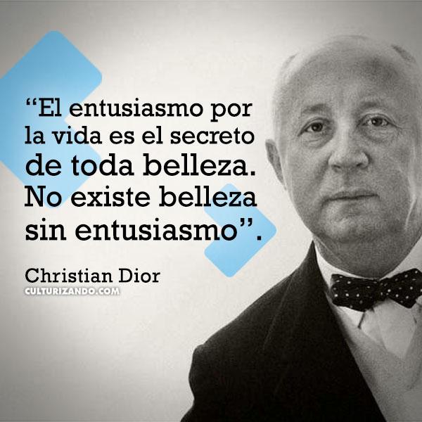 FRASES Christian Dior