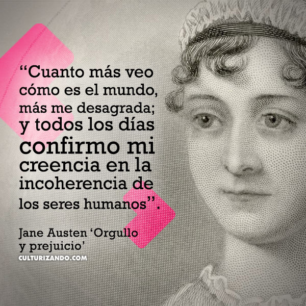 Frases Orgullo Y Prejuicio De Jane Austen Culturizandocom