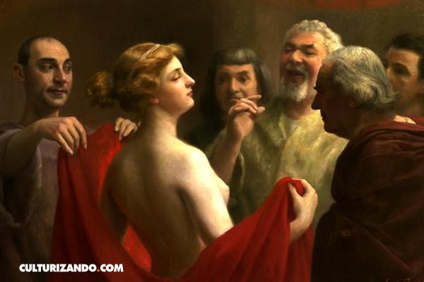 El juicio de Friné, la hetaira más bella de la Antigua Grecia
