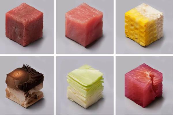 Trivia: ¿Puedes adivinar qué alimentos son estos cubos?