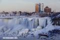 Las cuatro veces que se han congelado las cataratas del Niágara