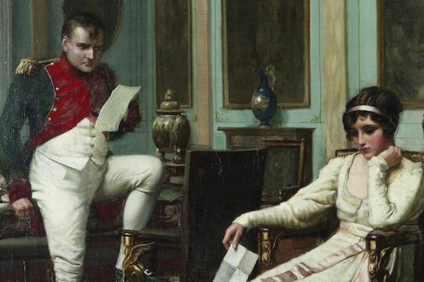 Las cartas de Napoleón Bonaparte hacia su esposa Josefina, emperatriz de Francia