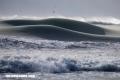 El increíble fenómeno de las olas congeladas