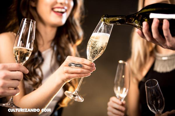 beneficios del champagne