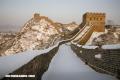 Maravillosos monumentos del mundo bajo la nieve