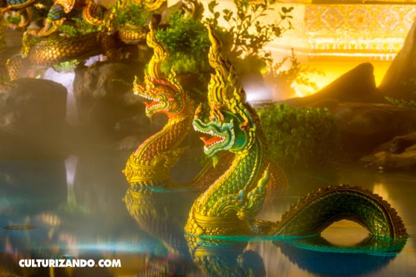 Nagas, las serpientes mitológicas con cara de mujer