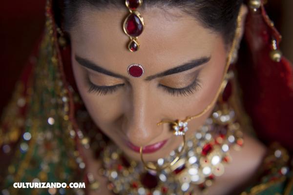 El bindi, el punto espiritual del cuerpo
