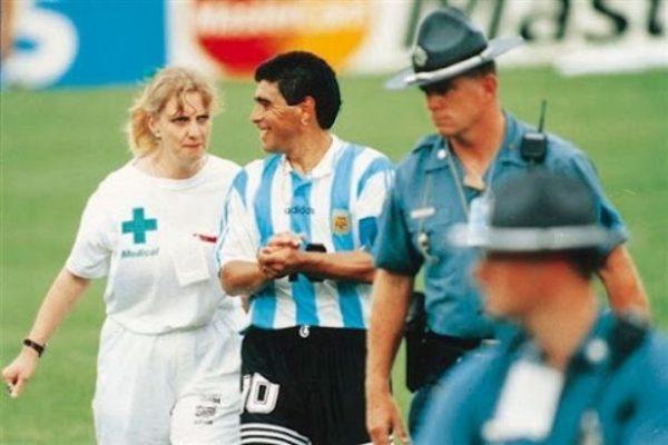 El día que Maradona dio positivo en el antidoping