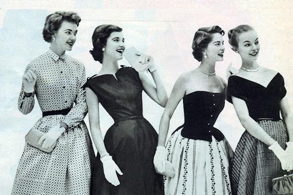 En Imágenes: la revolución de la moda de 1950