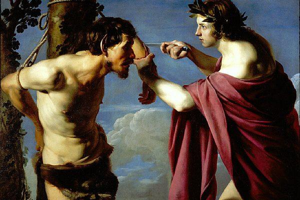 La trágica historia de Marsias, el músico que sufrió la ira del dios Apolo