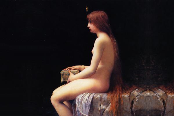 Pandora, la primera mujer de la Tierra