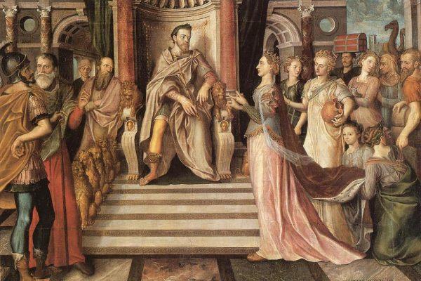 La reina de Saba y su intenso romance con Salomón