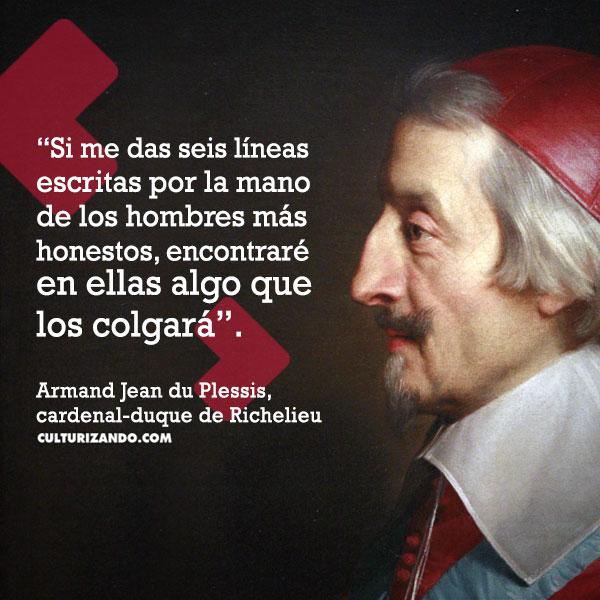 Cardenal de Richelieu