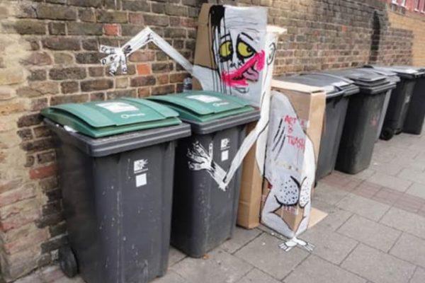 En Imágenes: Arte y basura se fusionan en esta divertida muestra