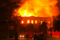 Enorme incendio destruye el Museo Nacional de Río de Janeiro